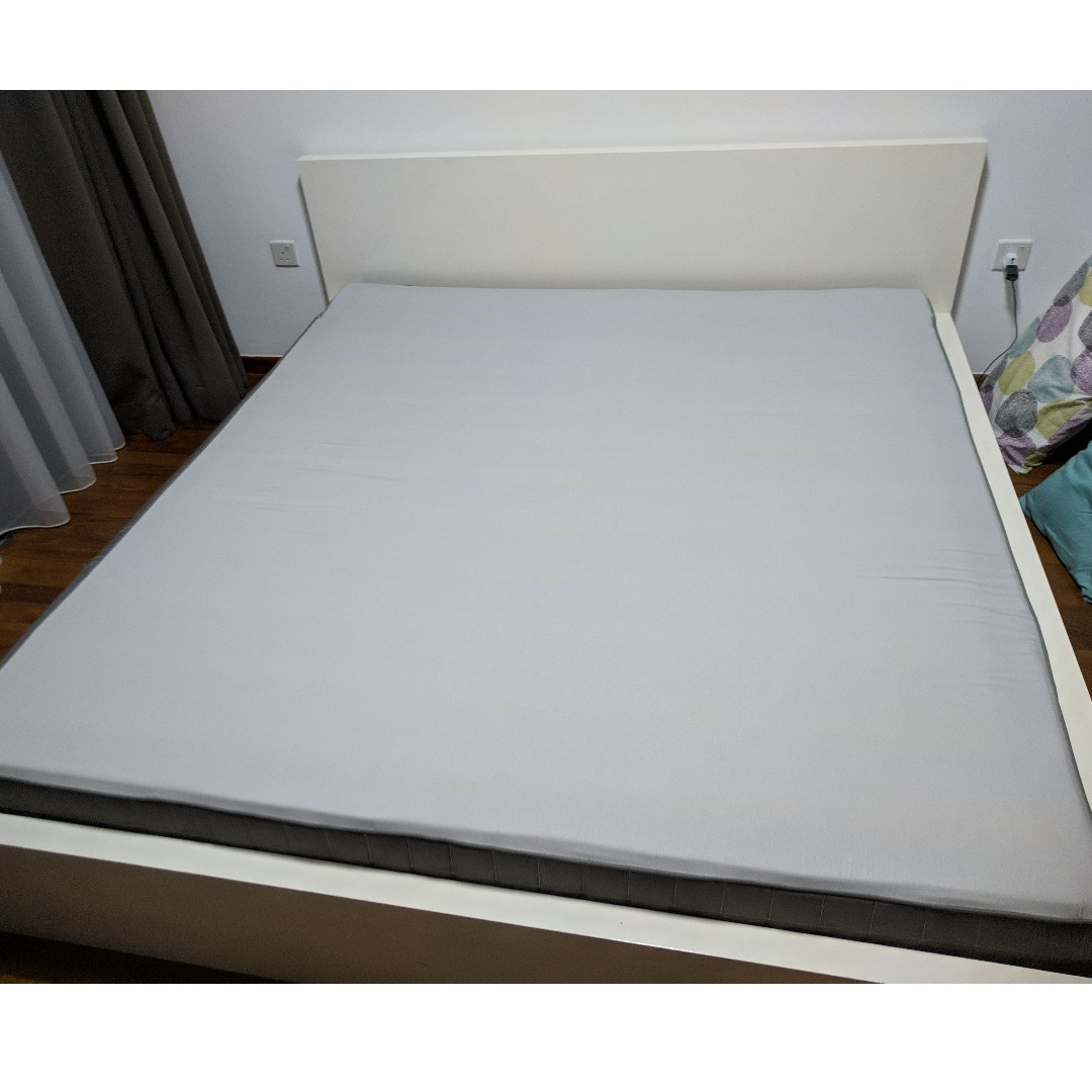 Hovag Mattress Free Ikea Hovag King Sized Mattress Pickup Only Furniture