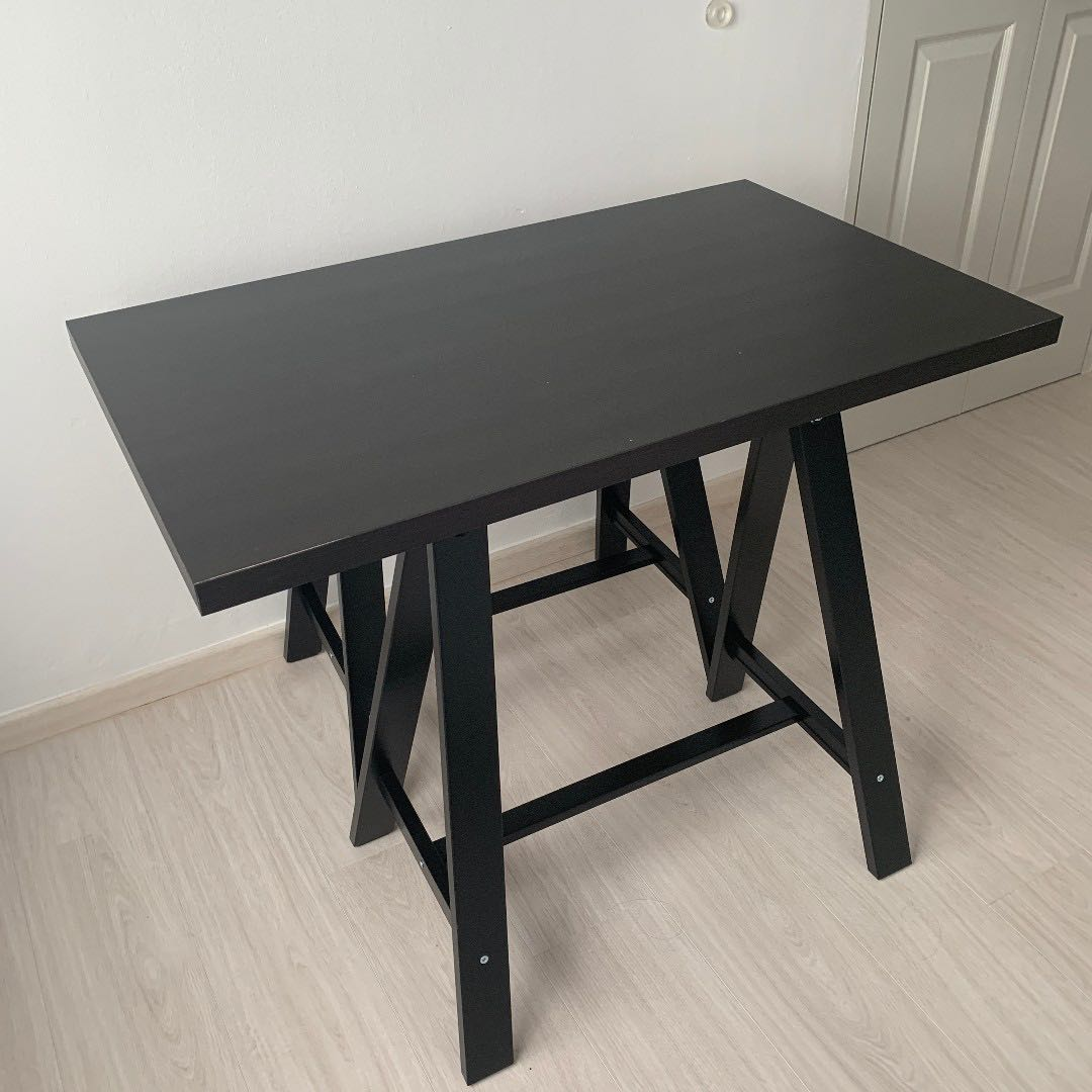 Linnmon Linnmon Table Top Black