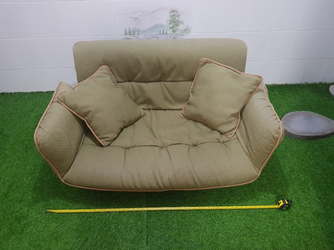 Mini Couch Milton Home Japanese Foldable Mini Sofa
