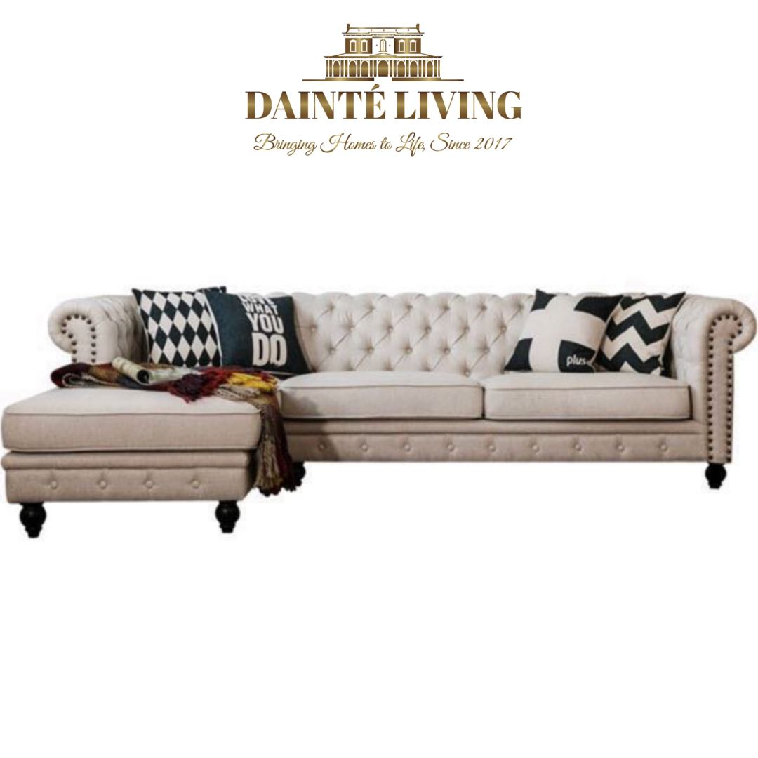 Chesterfield Sectional Sofa Classic Chesterfield Sectional Sofa Bespoke