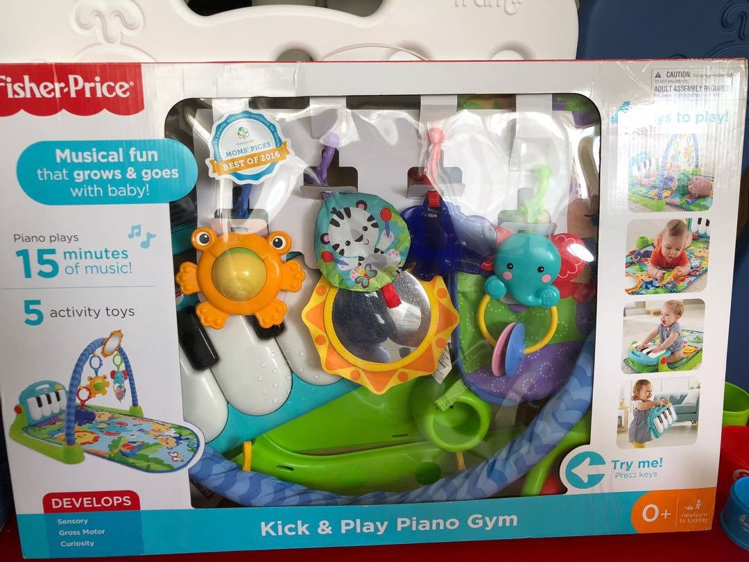 How To Play Newborn On Piano Fisher Price Kick N Play Piano Gym