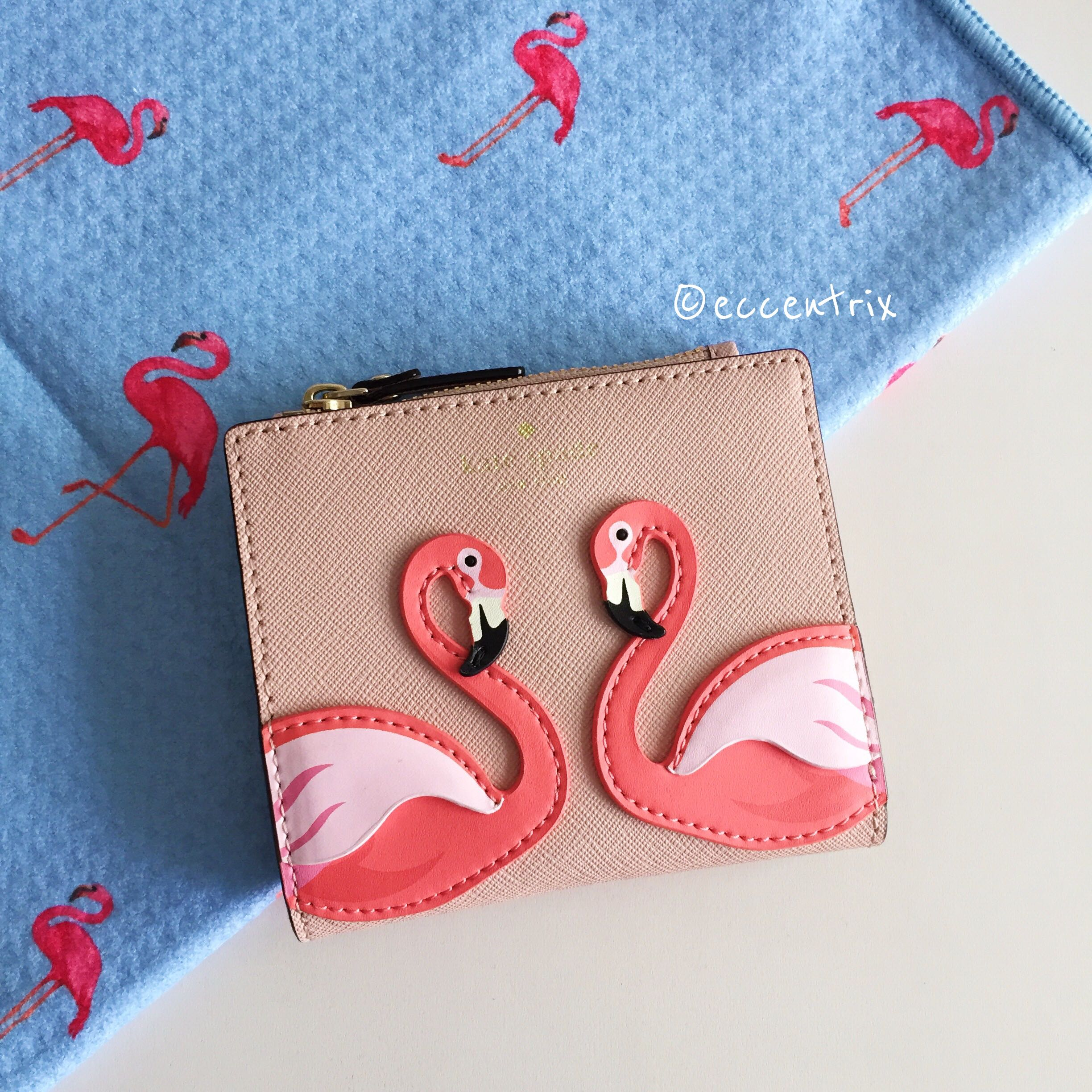 By The Pool Flamingo Kate Spade Kate Spade By The Pool Flamingo Adalyn Small Wallet Luxury Bags