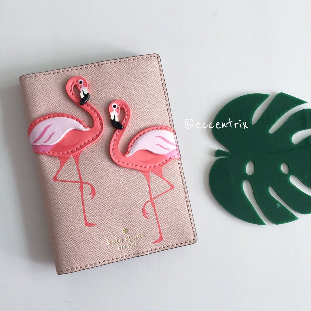 By The Pool Flamingo Kate Spade Kate Spade By The Pool Flamingo Passport Holder