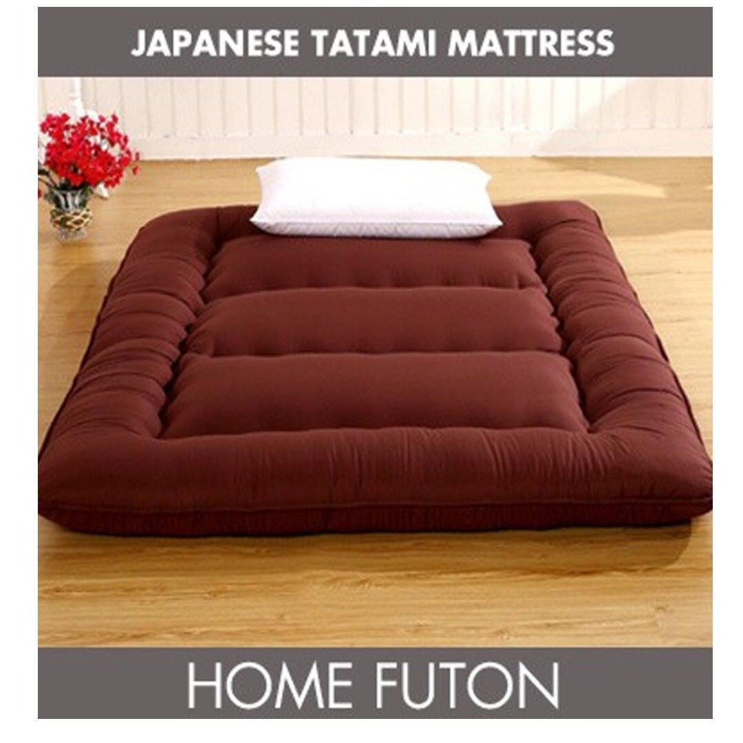 Foldable Mattresses Free Delivery Super Single Size Tatami Foldable Mattress