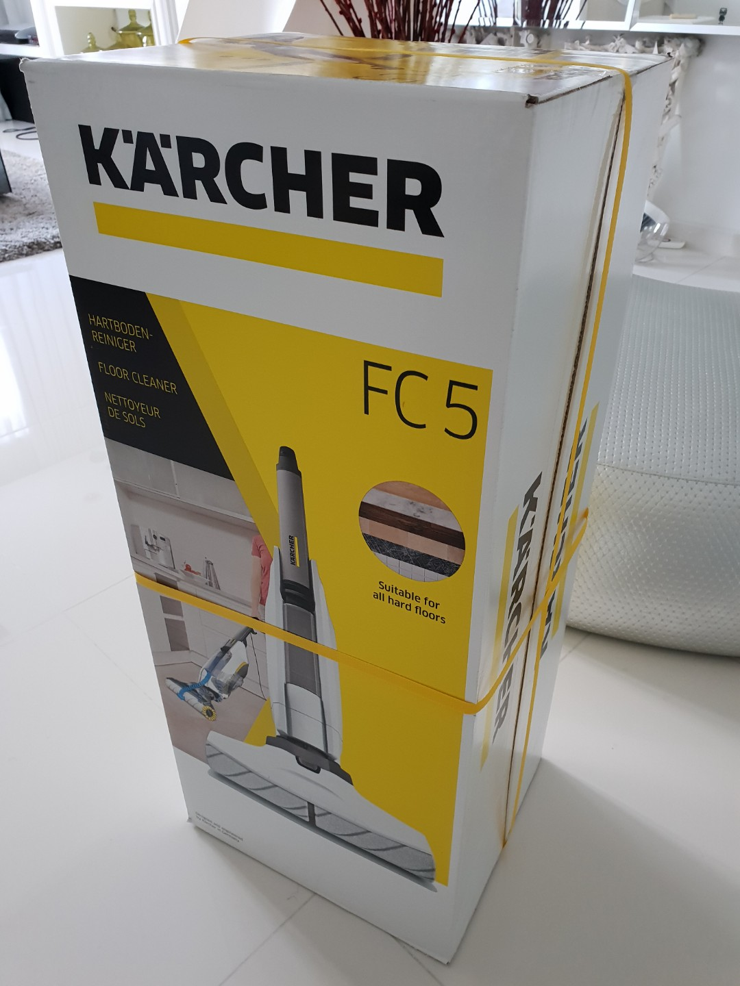 Karcher Reiniger Karcher Hard Floor Cleaner Fc 5 White