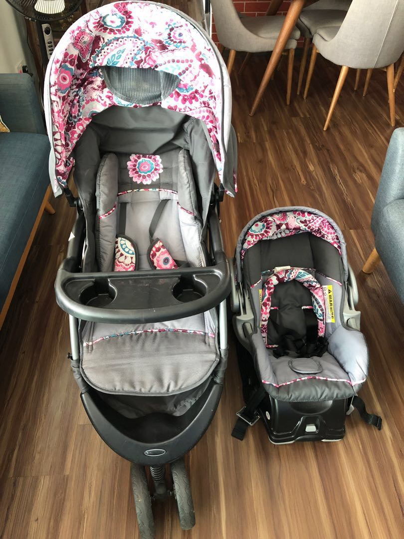 Car Seat Carrier Stroller Baby Trend Infant Car Seat And Stroller Babies Kids