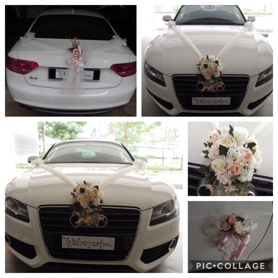Car Decoration Weding Wedding Car Decoration Bridal Car Decoration