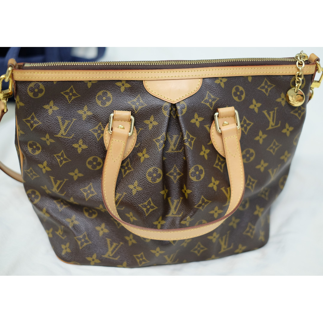 Louis Vuitton Tivoli Vs Palermo Louis Vuitton Monogram Palermo Pm M40145 Lv