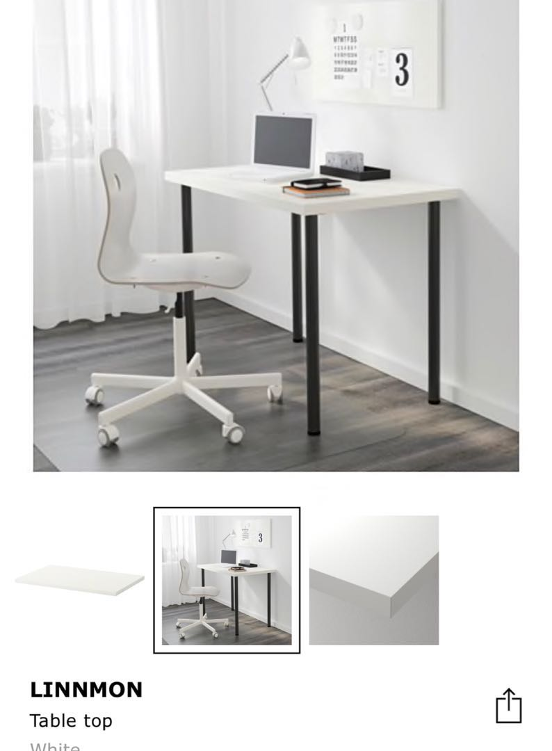 Linnmon Ikea Linnmon White Table Top Only