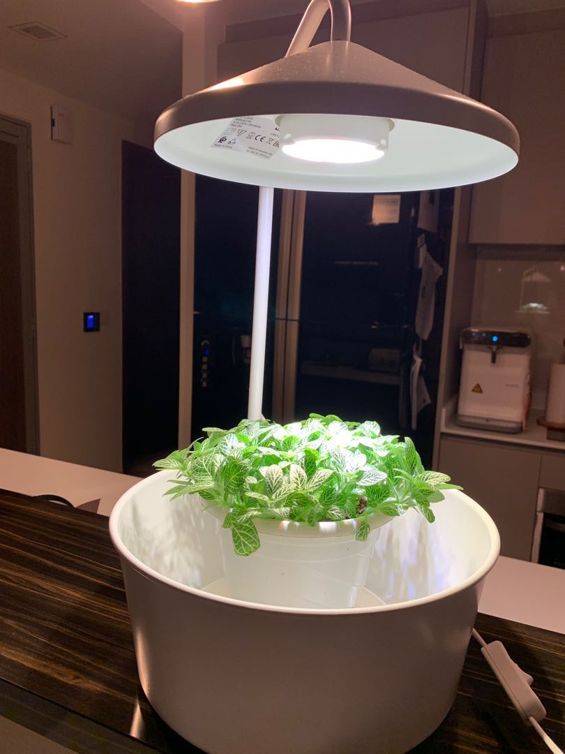 Led Hanglamp Ikea Planter With Led Light