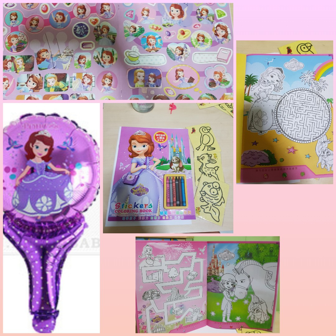 Big W Stickers Big Colouring W Activities Bk Paw Patrol Sofia Colouring Book W