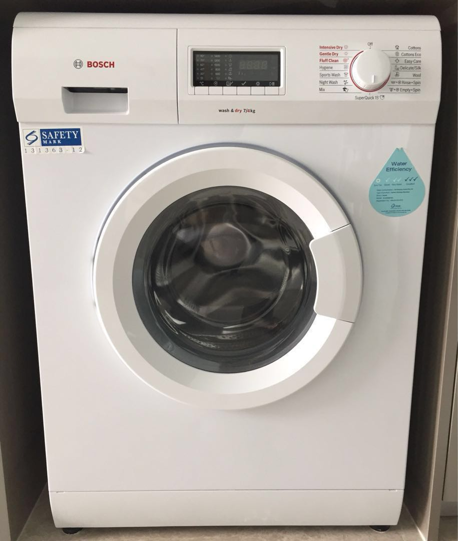 New Washer And Dryer Brand New Bosch Front Load Washing Machine W Dryer Serie 4 Wv28360sg Automatic Washer Dryer 7kg 4kg