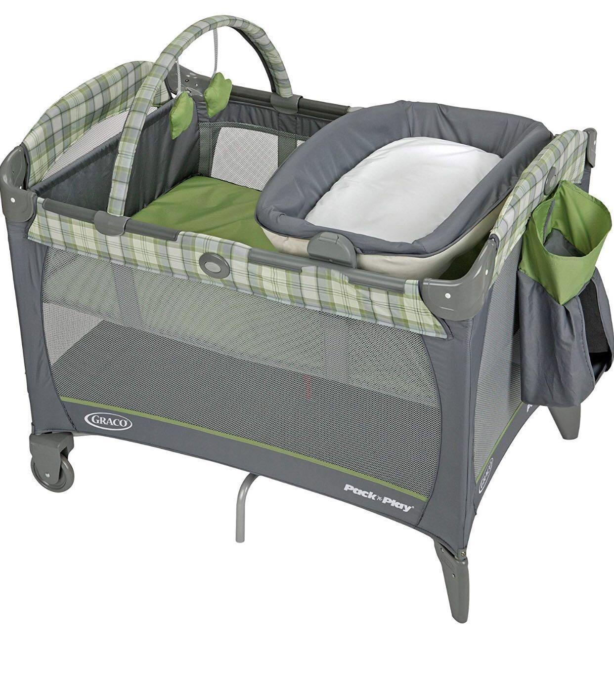 Baby Cradle Graco Graco Playpen Cot Babies Kids Cots Cribs On Carousell