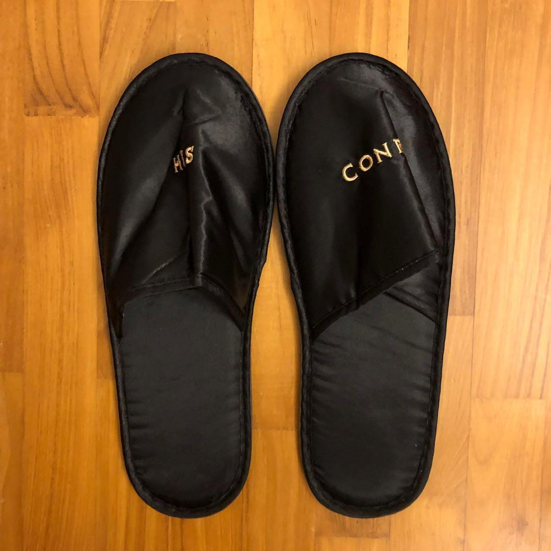 Baby Hotel Slippers Conrad Hotel Disposable Travel Slippers Men S Women S