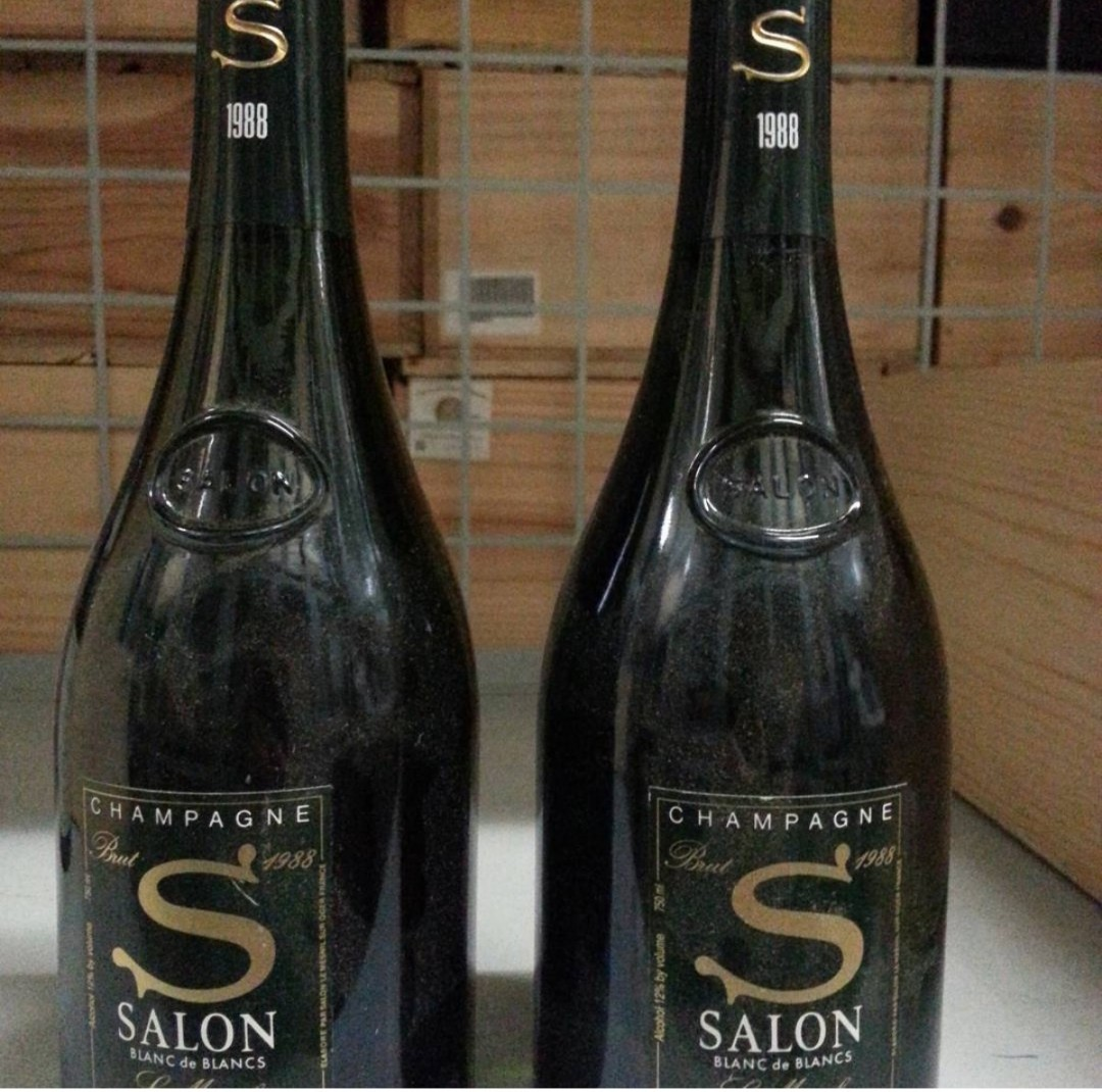 Salon Champagne Salon Champagne 750ml Bottles X 2 In Stock Only