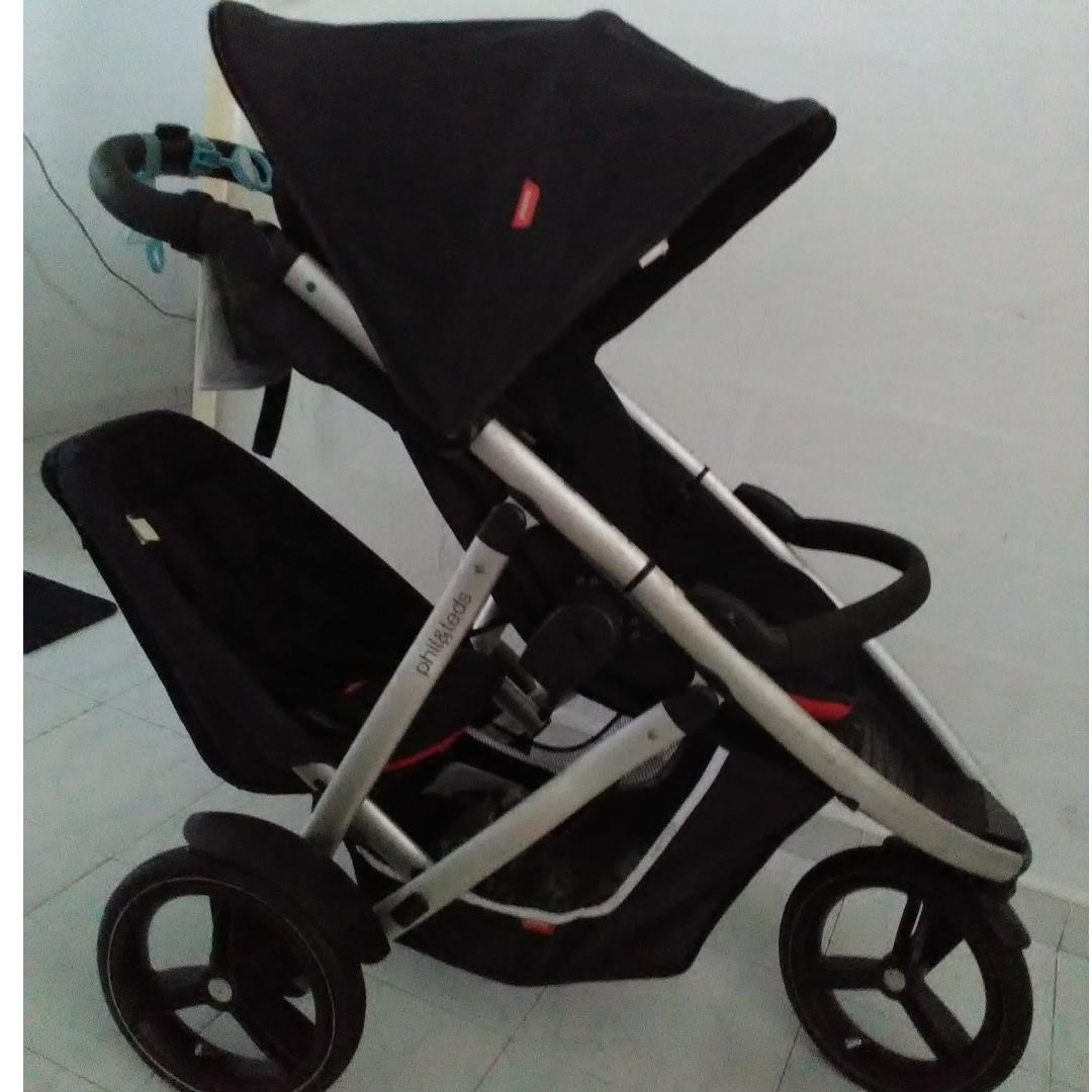 Phil And Teds Double Buggy Vibe Phil Ted Vibe Buggy Double Stroller Endgameyourexcess On