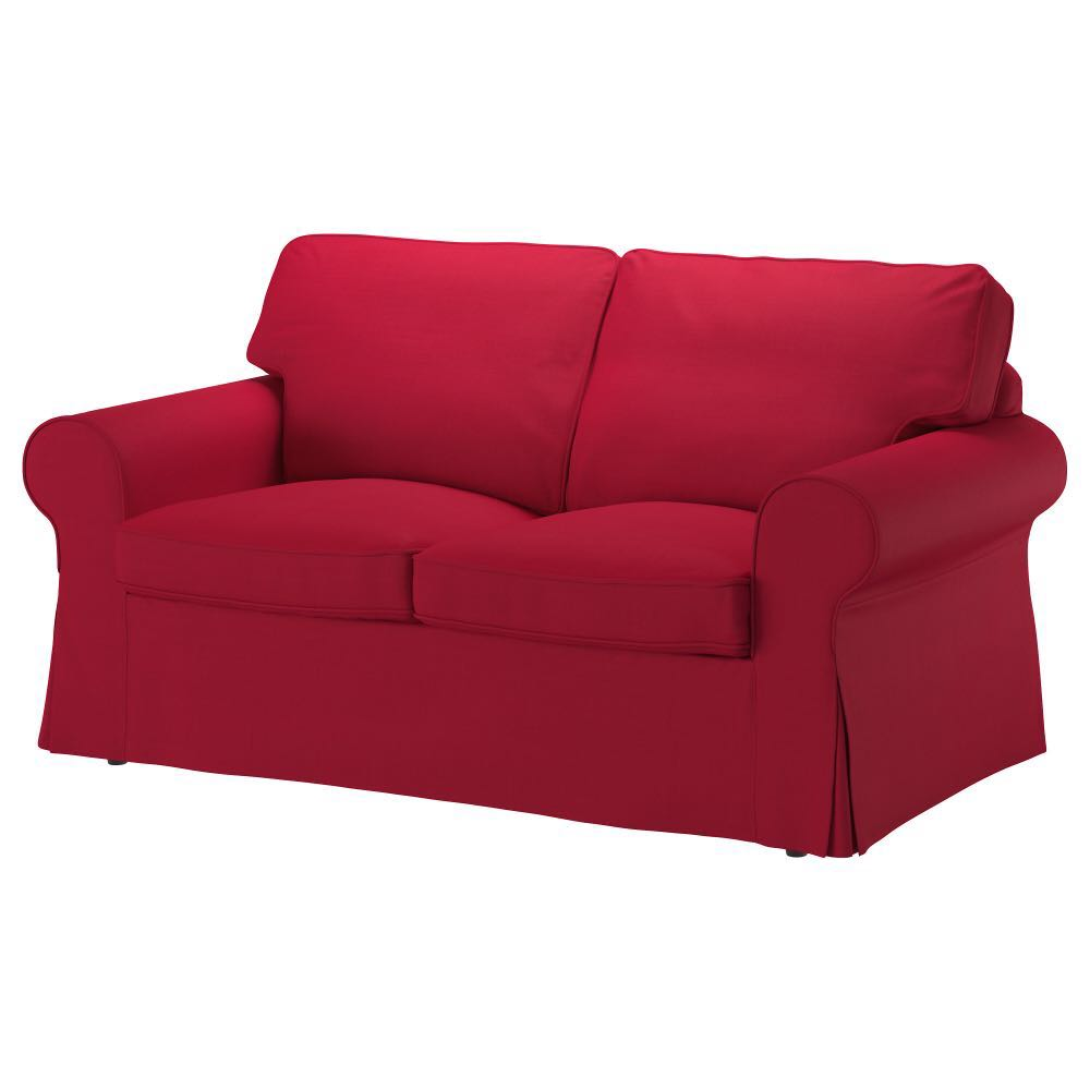 2 Seater Ikea Sofa Cover Ikea Erktop Red Covers For 2 Seater Sofa