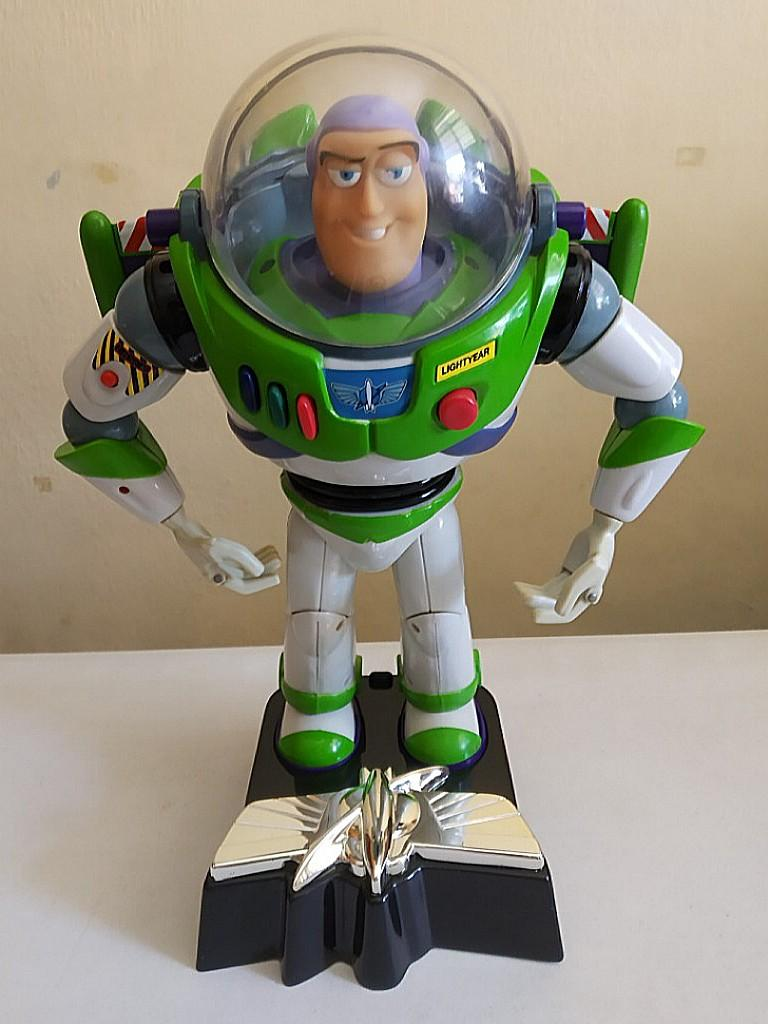 Toy Story Toys Vintage Vintage Ultimate Talking Buzz Lightyear Room Guard