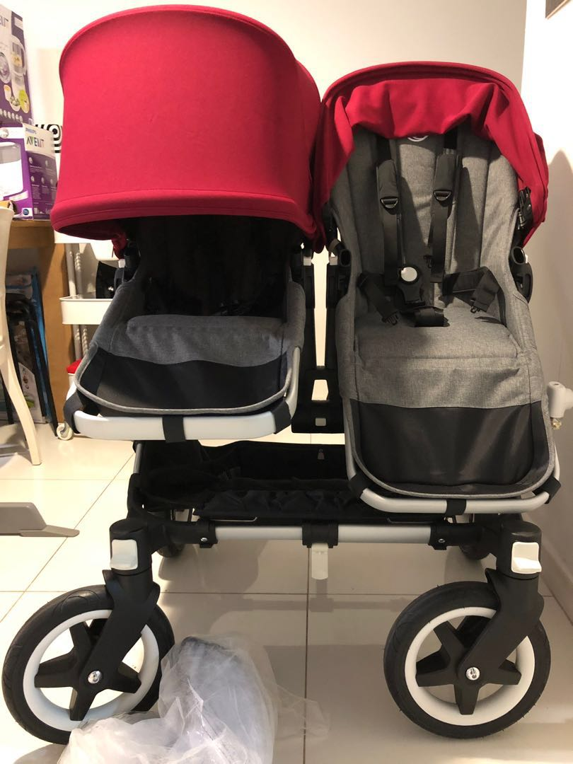 Bugaboo Donkey Duo With Buggy Board