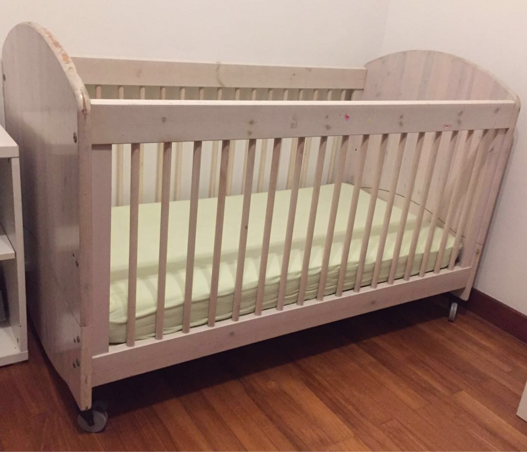 38 X 89cm Crib Mattress Flexa Crib Kids Bed Babies Kids Cots Cribs On Carousell
