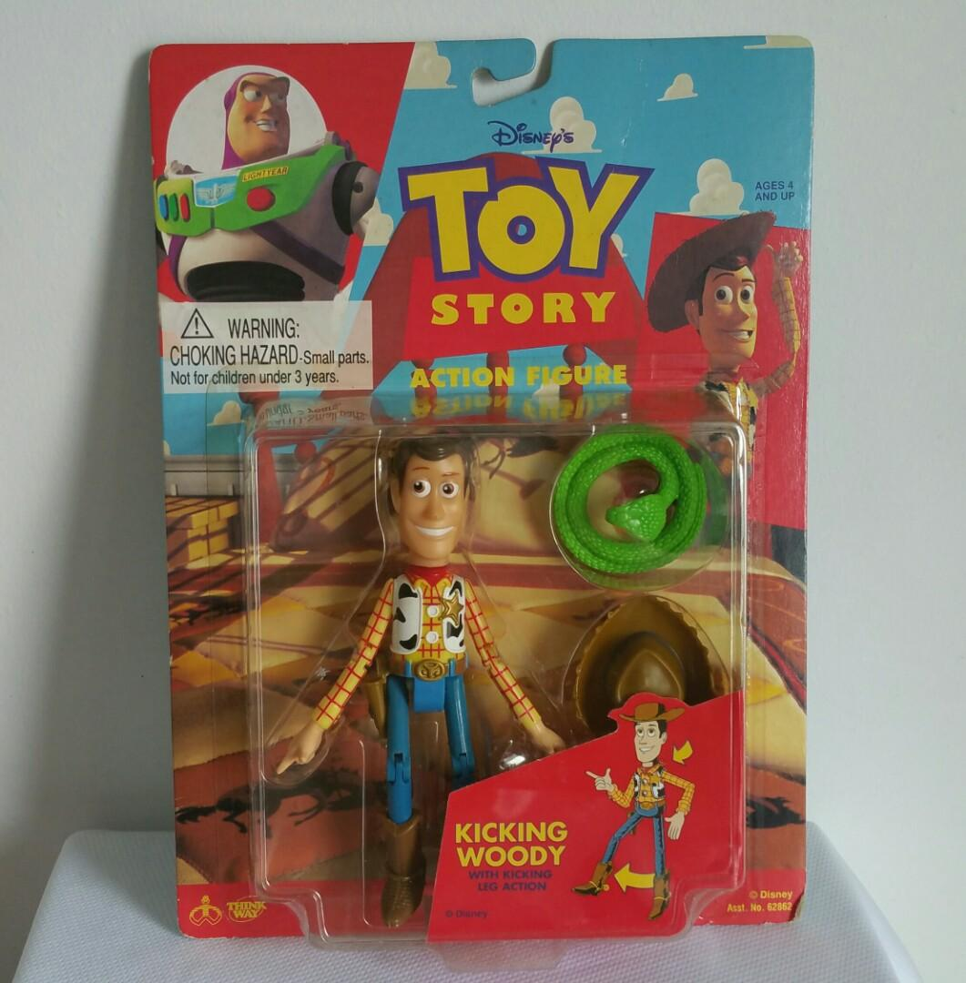 Toy Story Toys Vintage Toy Story Vintage Fr Disney S Animated Movie 1995 Woody