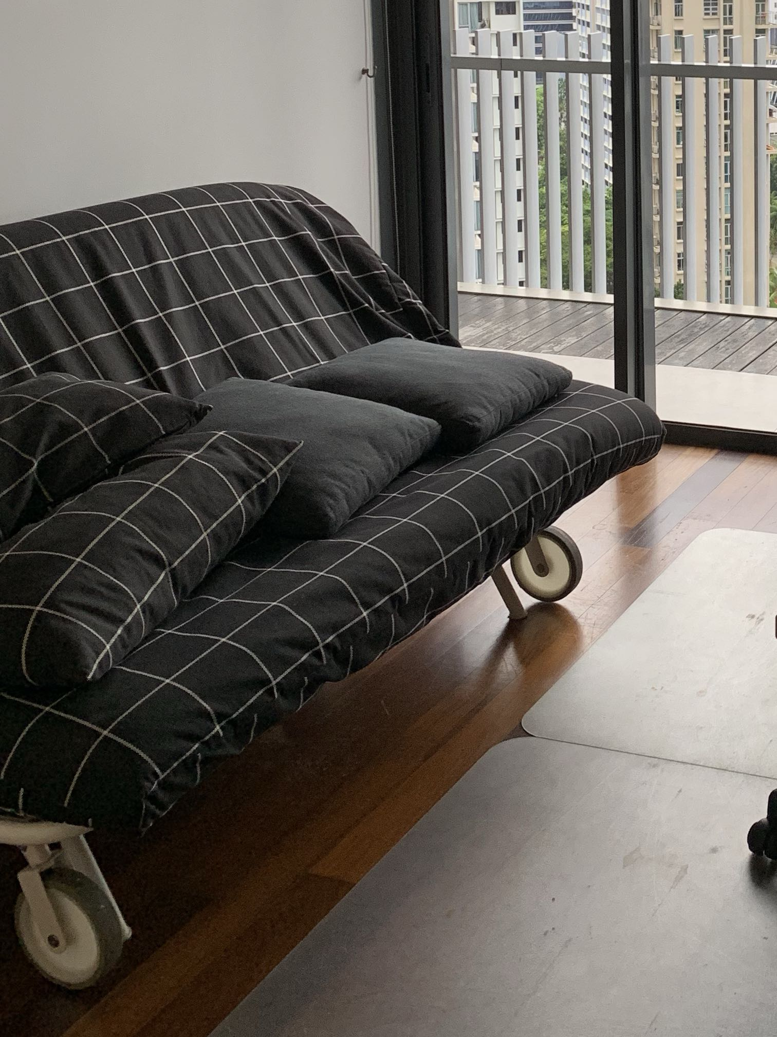 Ikea Queen Sized Futon Sofa Bed Furniture Sofas On Carousell