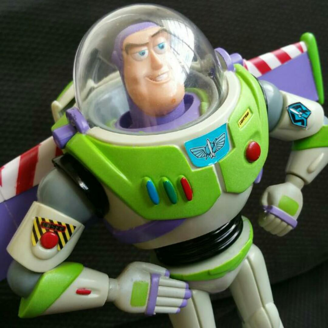 Toy Story Toys Vintage Toy Story Vintage Buzz Lightyear Electronic Talking Bank