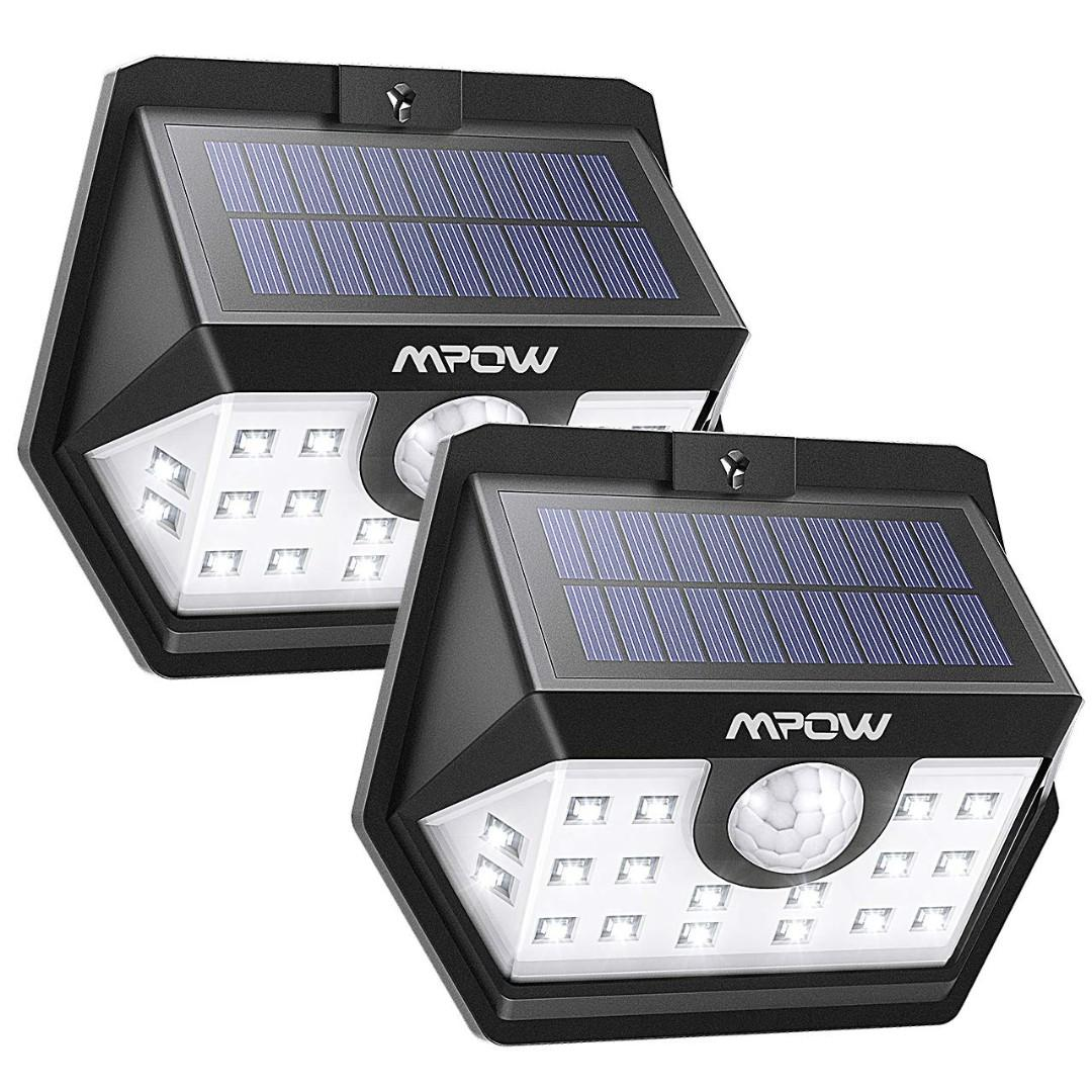 Itme 19 Mpow Solar Lights 20 Led Solar Powered Security Lights With Motion Sensor Everything Else On Carousell