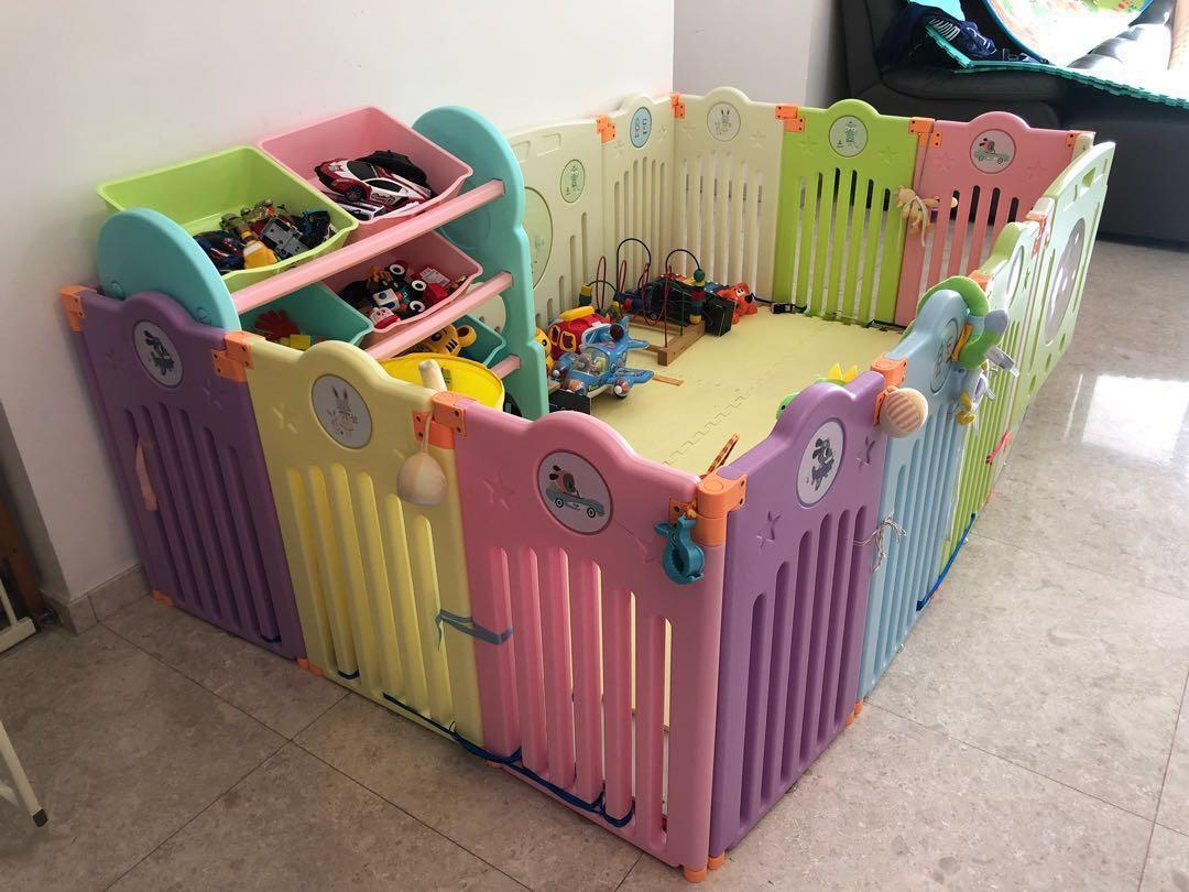 Baby Playpen Height 16 1 1door Panels Big Baby Playpen 200x180cm Playground