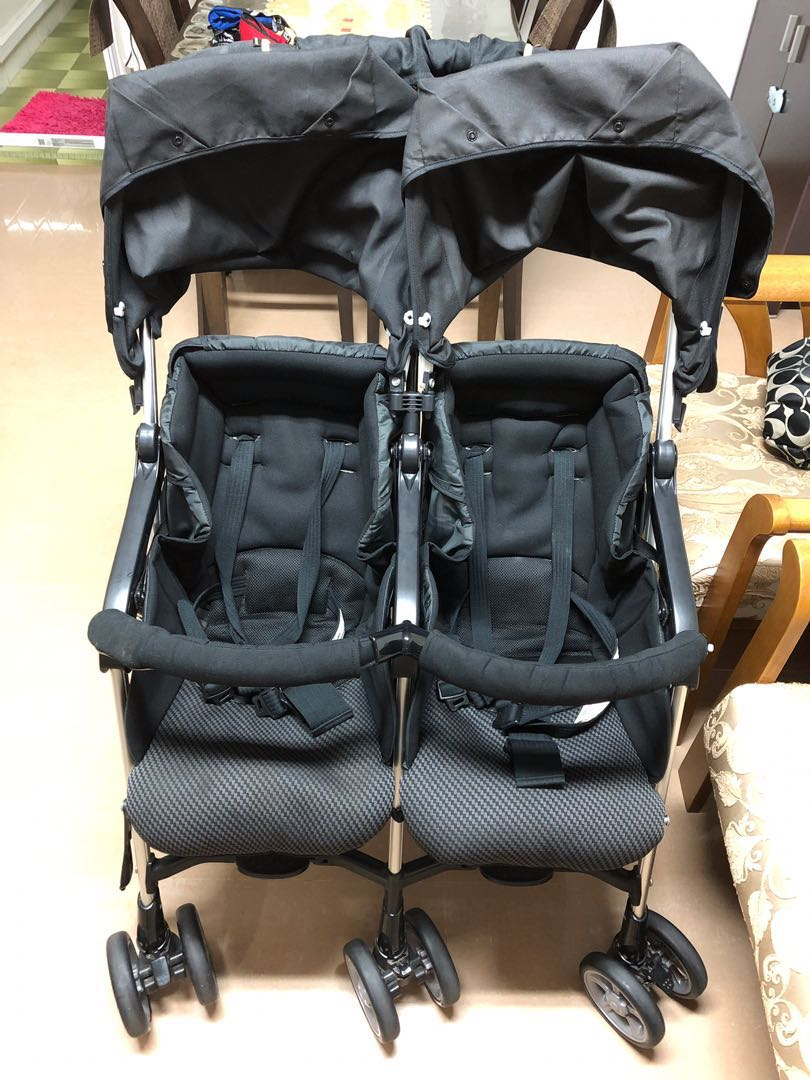 Combi Double Stroller Side By Side Double Stroller Combi