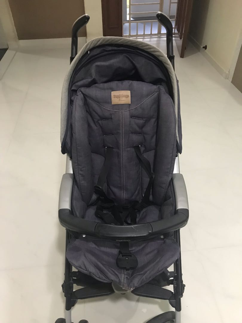 Peg Perego Pliko Matic Stroller Instructions Selling Peg Perego Stroller For 200 Condition 9 5 10 Self Collect From Sengkang