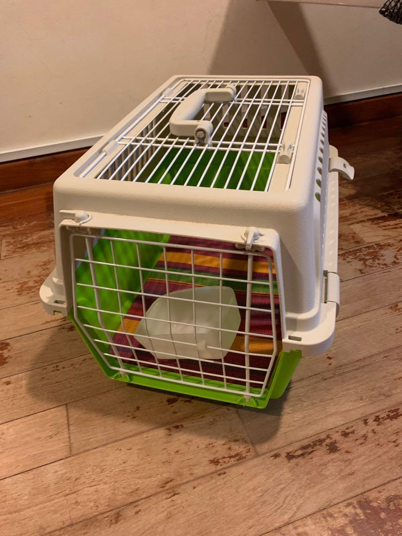 Pet Carrier On Sale Pet Carrier For Sale Green On Carousell