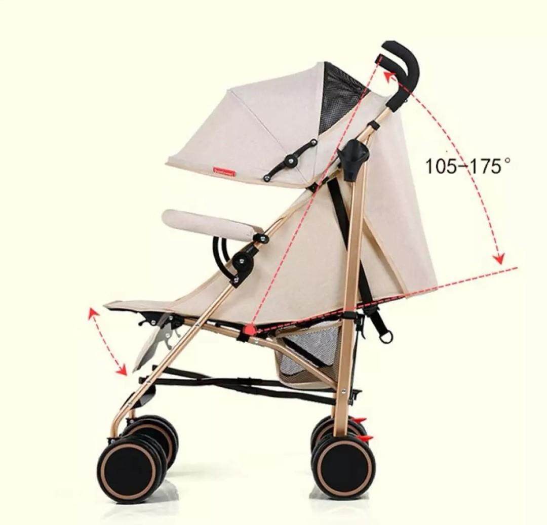 Baby Pram Umbrella Baby Pram Stroller Umbrella Style Recline On Carousell