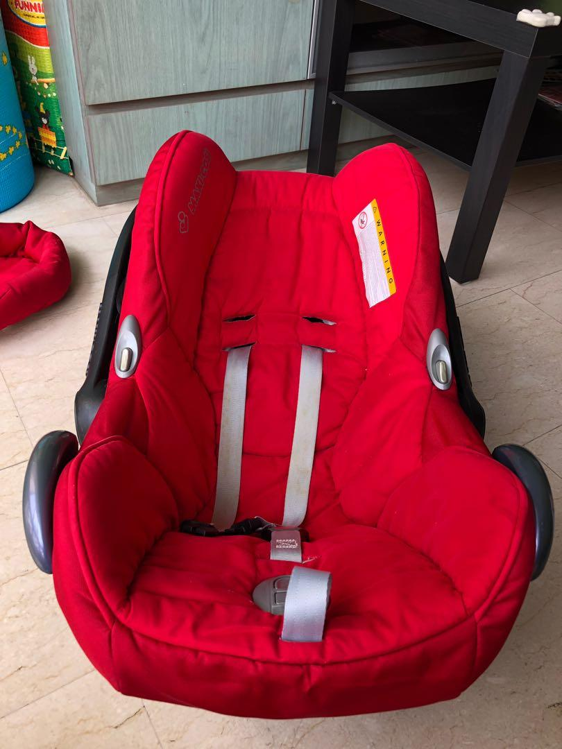 Maxi Cosi Baby Car Seat How To Install Prelove Maxi Cosi Cabriofix On Carousell