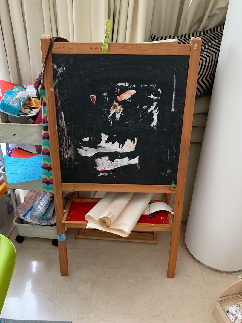 Ikea Drawing Stand Babies Kids Toys Walkers On Carousell