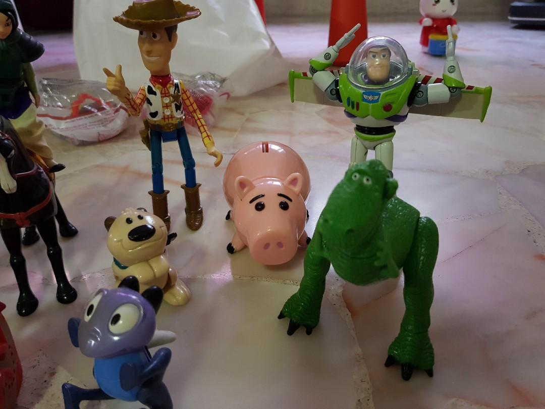 Toy Story Toys Vintage Toy Story Set Of 4 Toys Games Bricks Figurines On