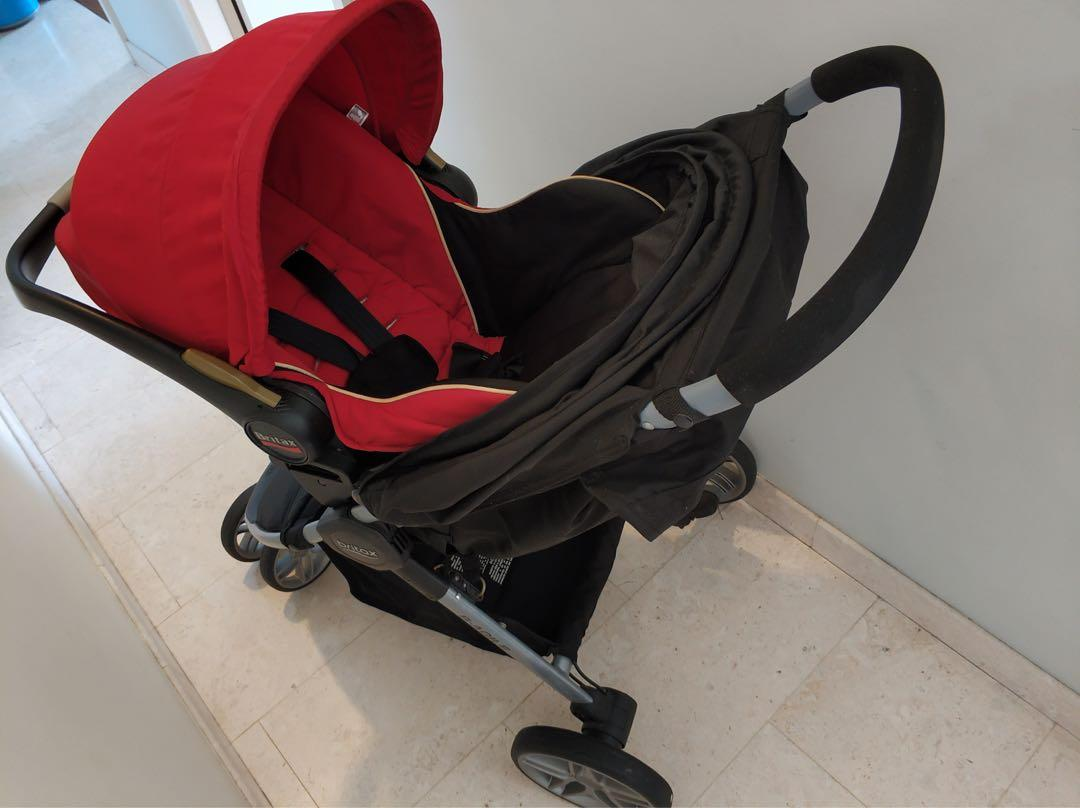 Britax Car Seat With Stroller Britax B Agile Stroller And Car Seat Babies Kids