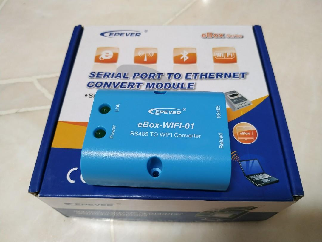 Compactrio System On Module Epever Ebox Wifi Rs485 To Wifi Converter Electronics