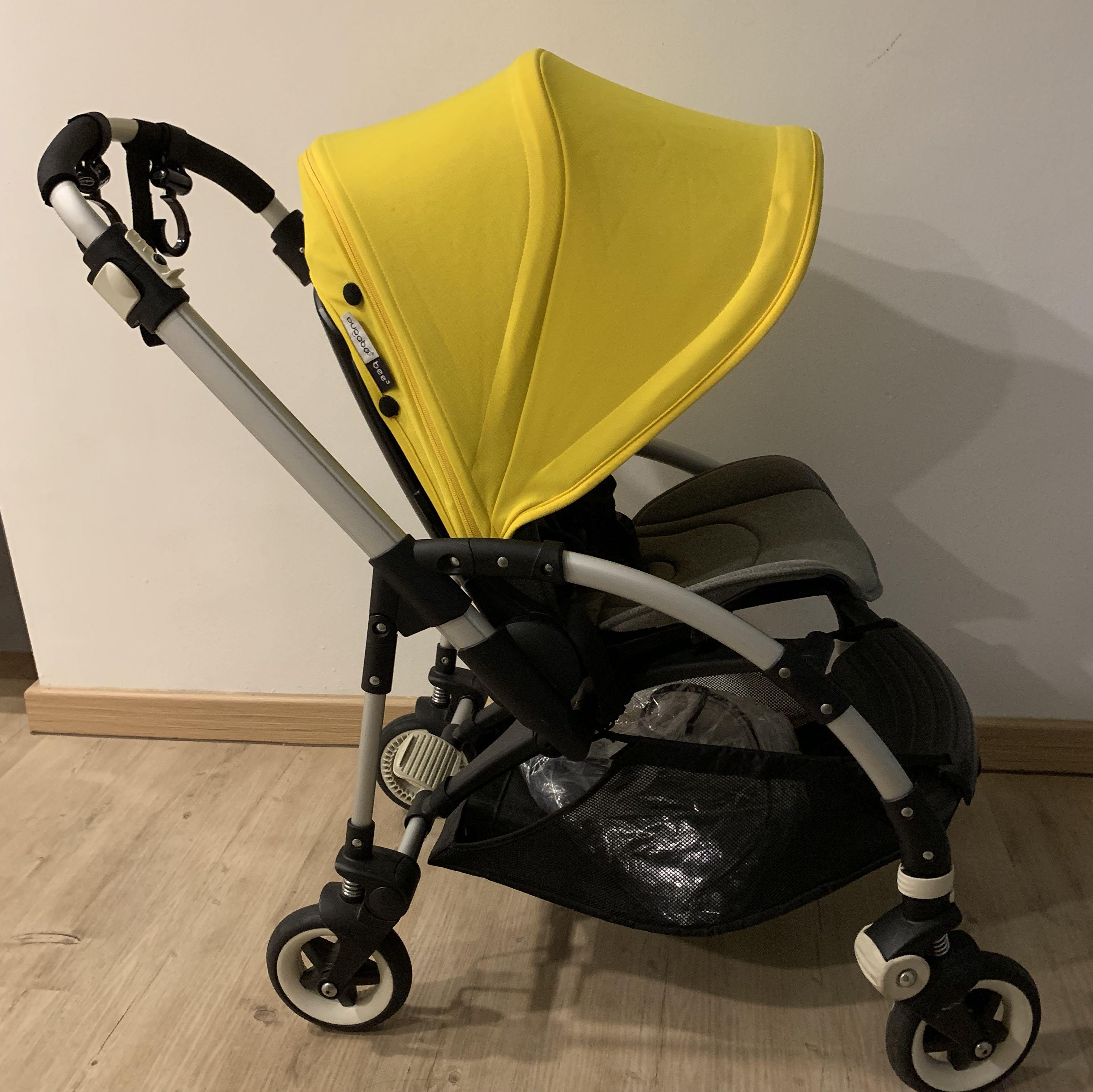 Bugaboo Pram Yellow Bugaboo Bee 3 Babies Kids Strollers Bags Carriers On