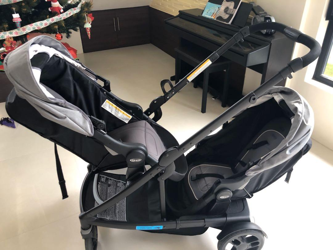 Uno2duo Stroller Double Stroller On Carousell