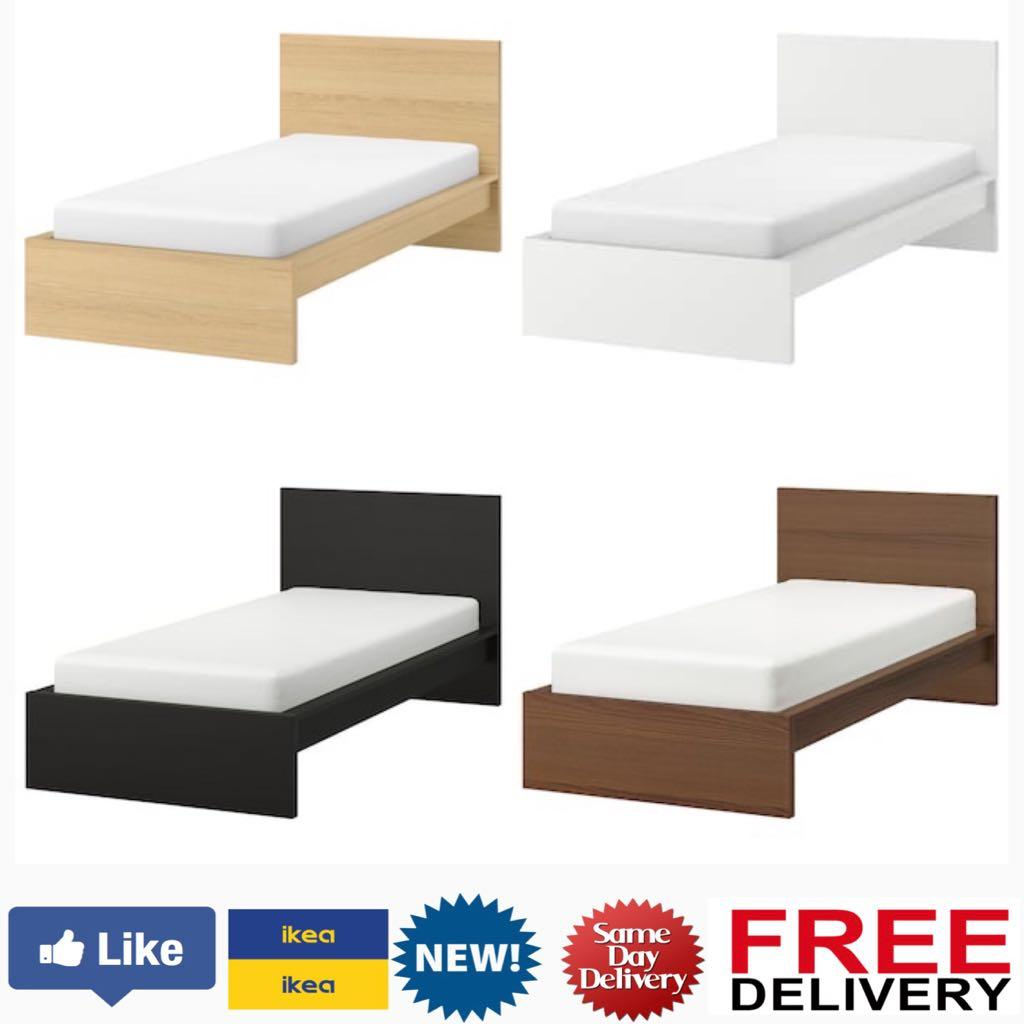 Ikea Malm Bed Frame Furniture Others On Carousell