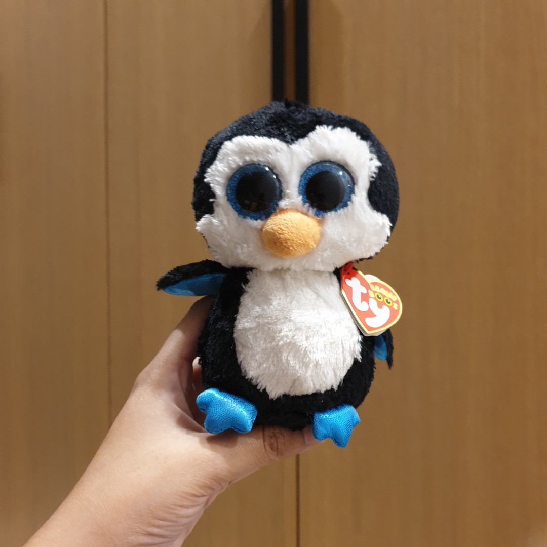Ty Beanie Boos Waddles The Penguin Toys Games Other Toys On Carousell