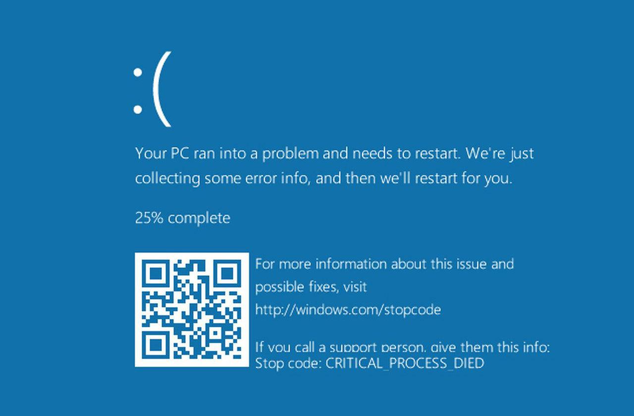Black Lab Fall Wallpaper Die Neue Windows 10 Bluescreen Fehlermeldung Ist Wom 246 Glich