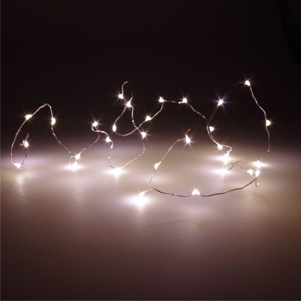 Lichterkette Wand Led Lichterkette Mit Batterie 20er, Warmweiß | Kaufland.de