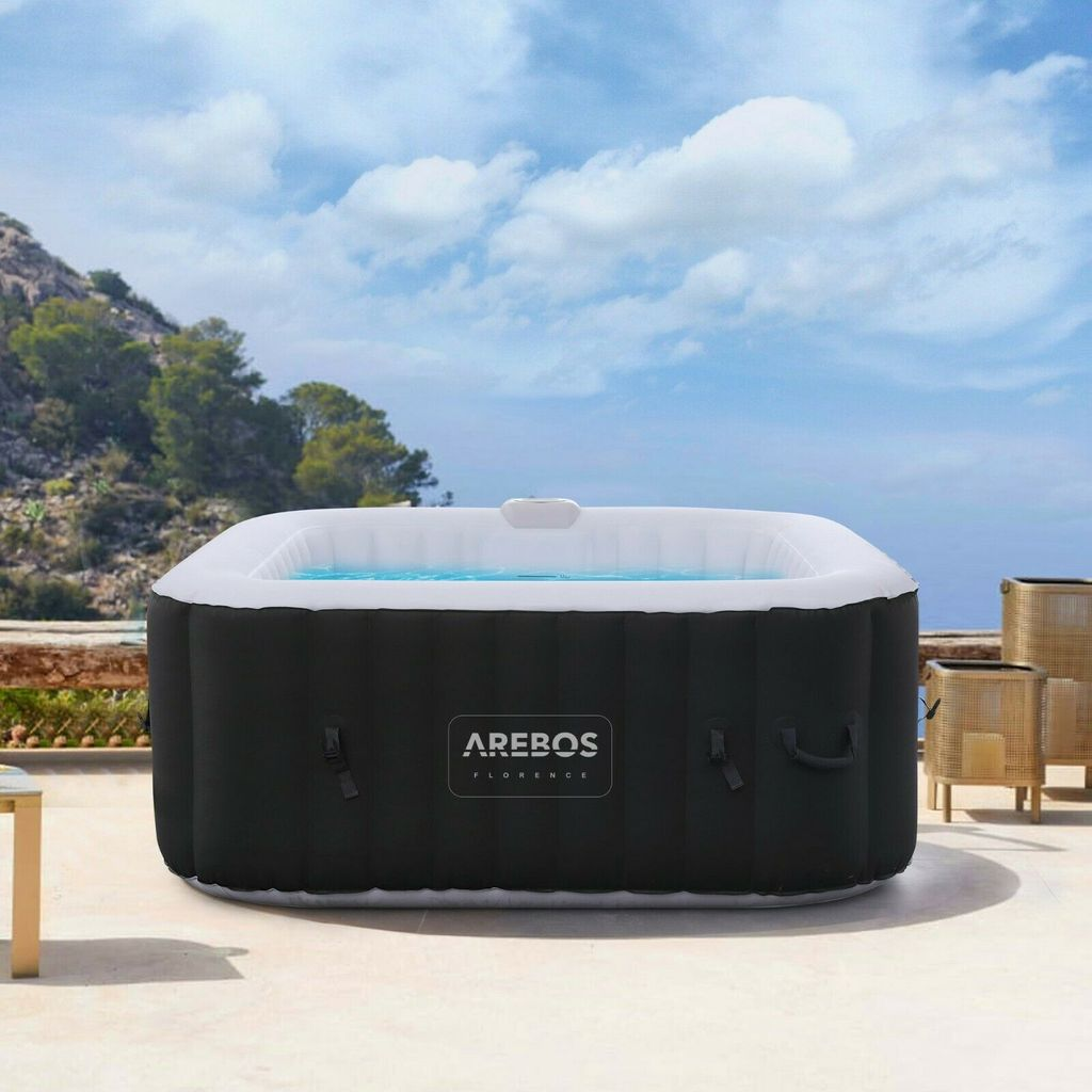 Arebos In Outdoor Whirlpool Spa Pool Kaufland De