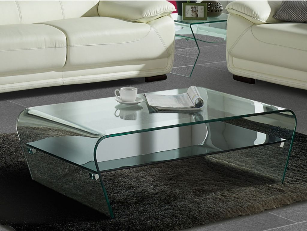 Couchtisch Glas Design Kelly Transparent Kaufland De