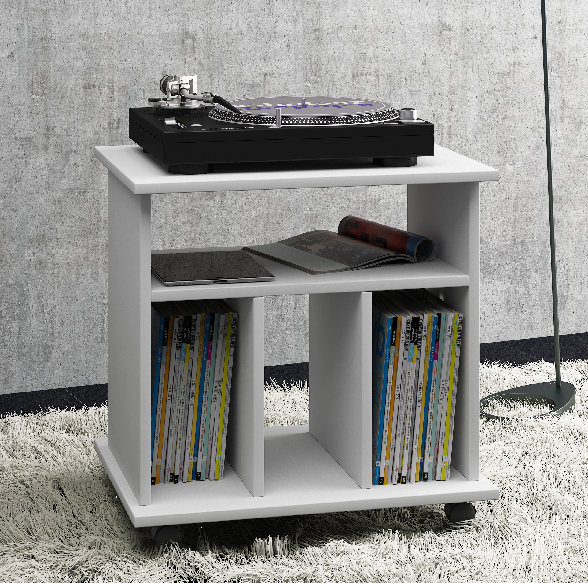 Ikea Phonomöbel Vcm Lp-möbel Regal Schallplatten Phonomöbel | Kaufland.de