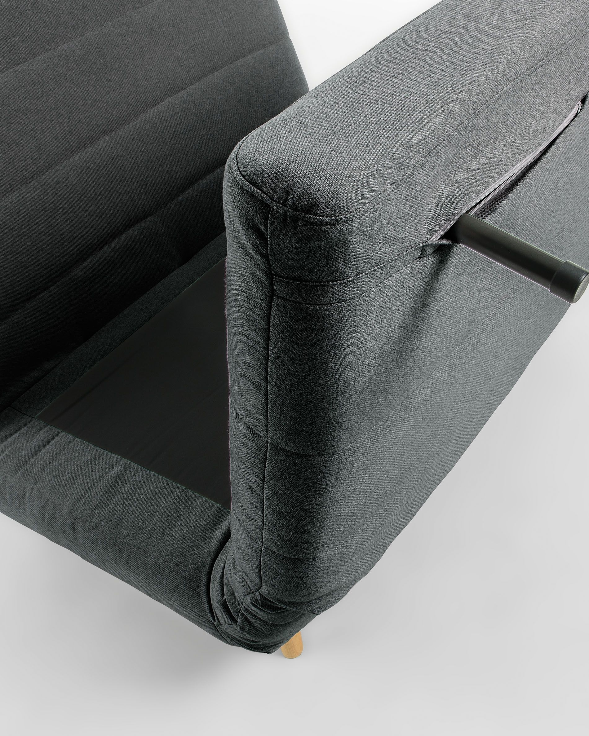 Schlafsessel Design Susan Sofa Bed 105 Cm Dark Grey | Kave Home