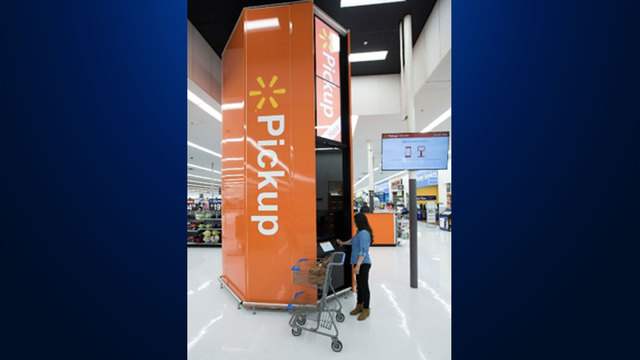 Sioux Falls Walmart Now Has A Pickup Tower