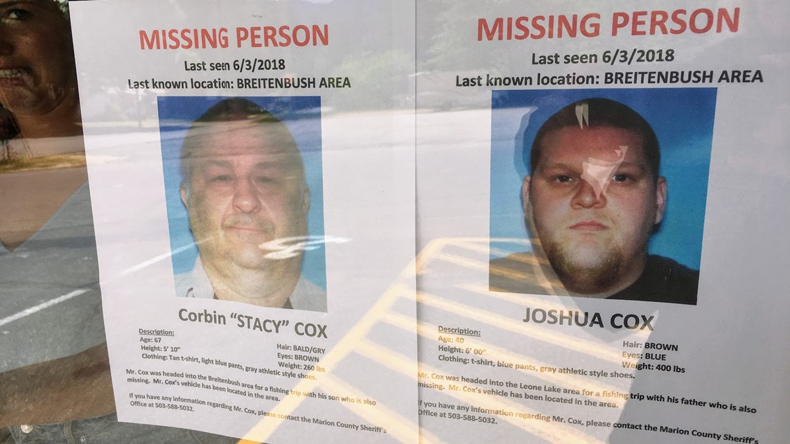 Father and son found alive after disappearing on fishing trip kgw
